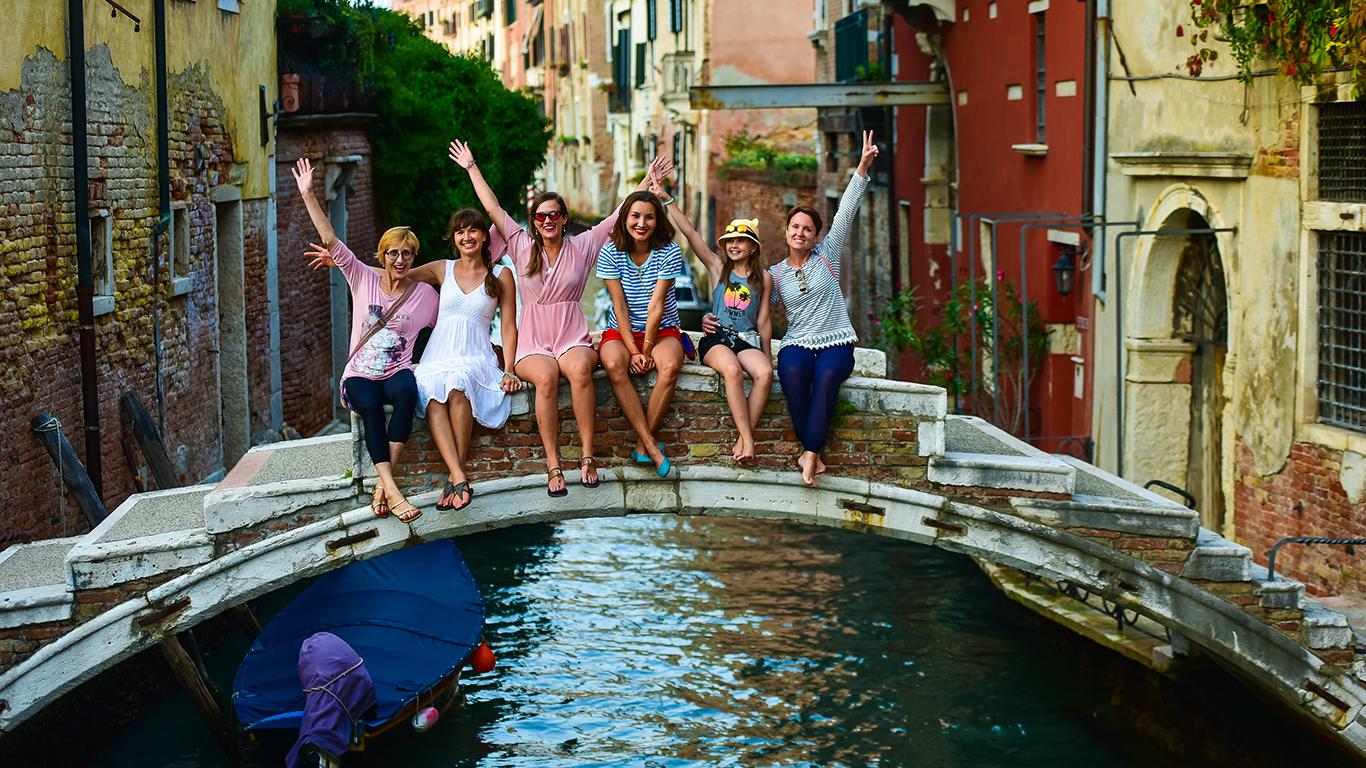 Венеция с One Wave