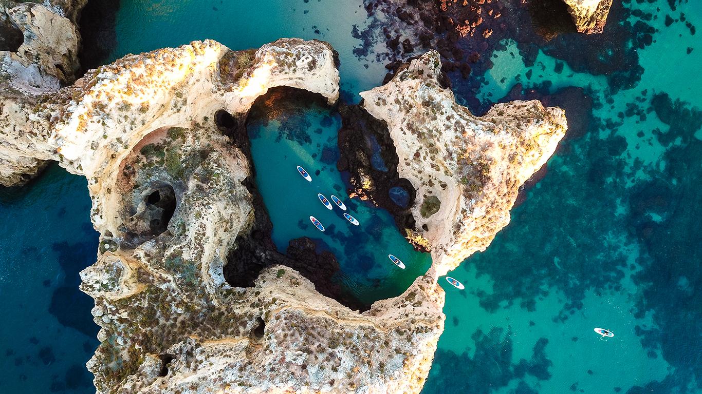 Португальское побережье на SUP