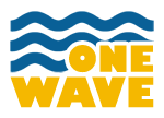 logo one wave sup trip
