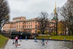 sup trip canals spb