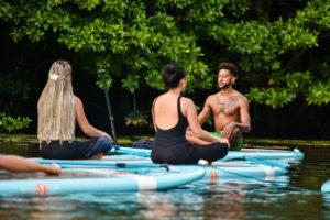 Умиротворяющая SUP йога