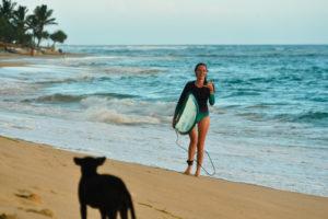 Серфинг приносит ощущение счастья и гармонии