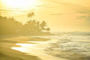 Рассвет на побережье