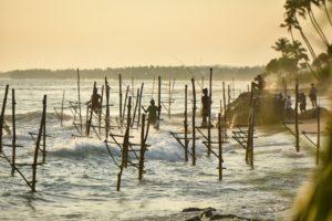 Рыбаки на Шри Ланке