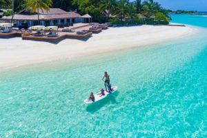 SUP прогулка по лагуне острова