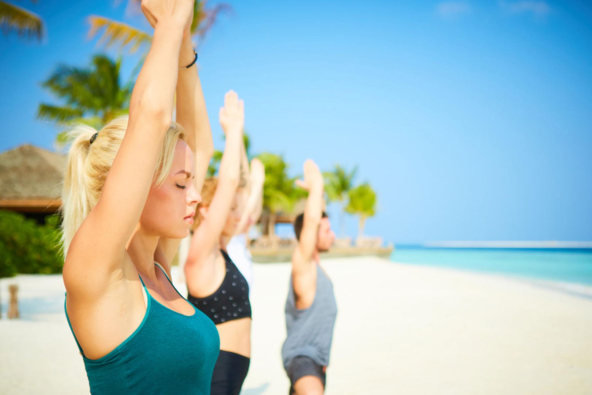Йога на солнечном побережье
