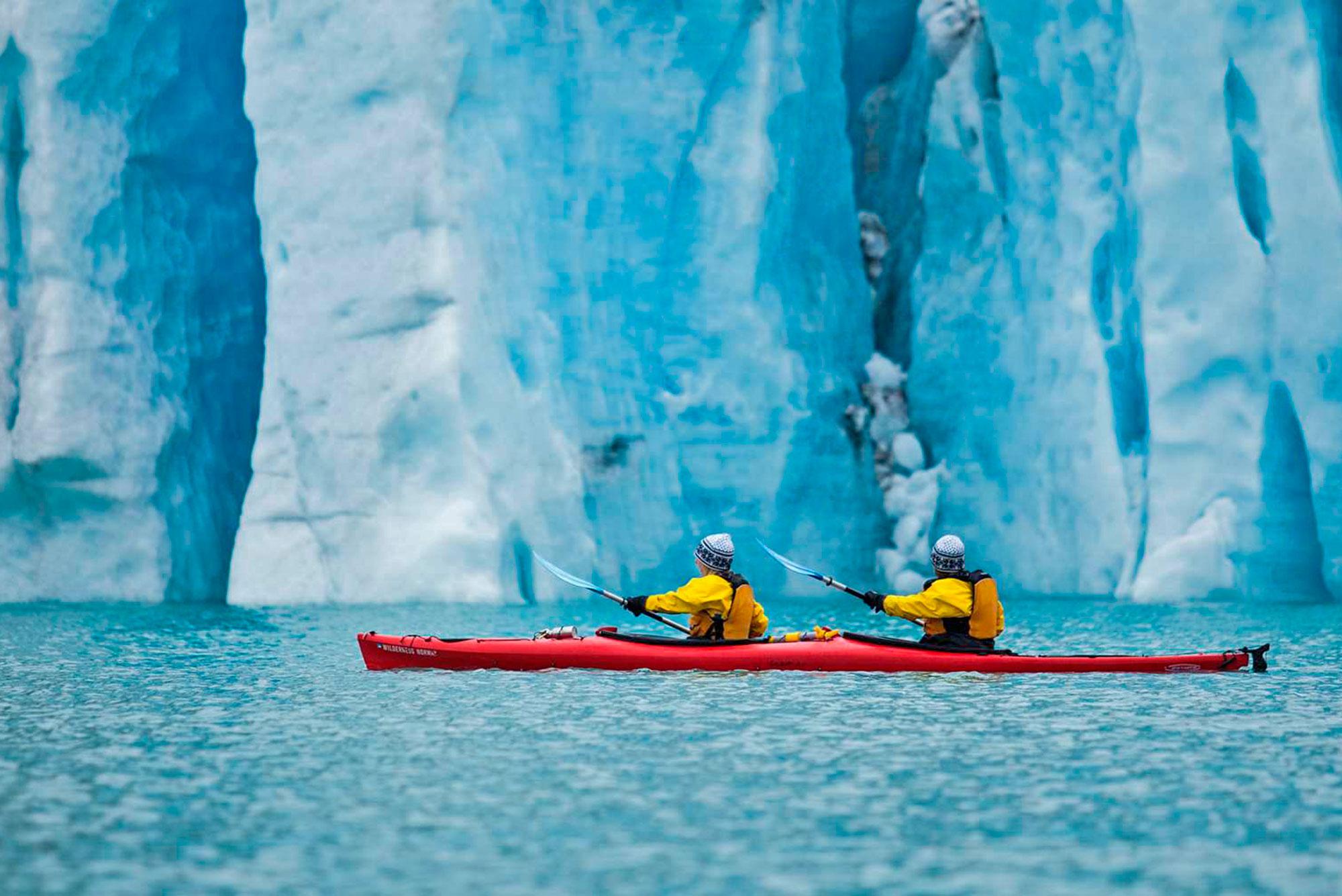 Увидим ледник с нового ракурса - с воды