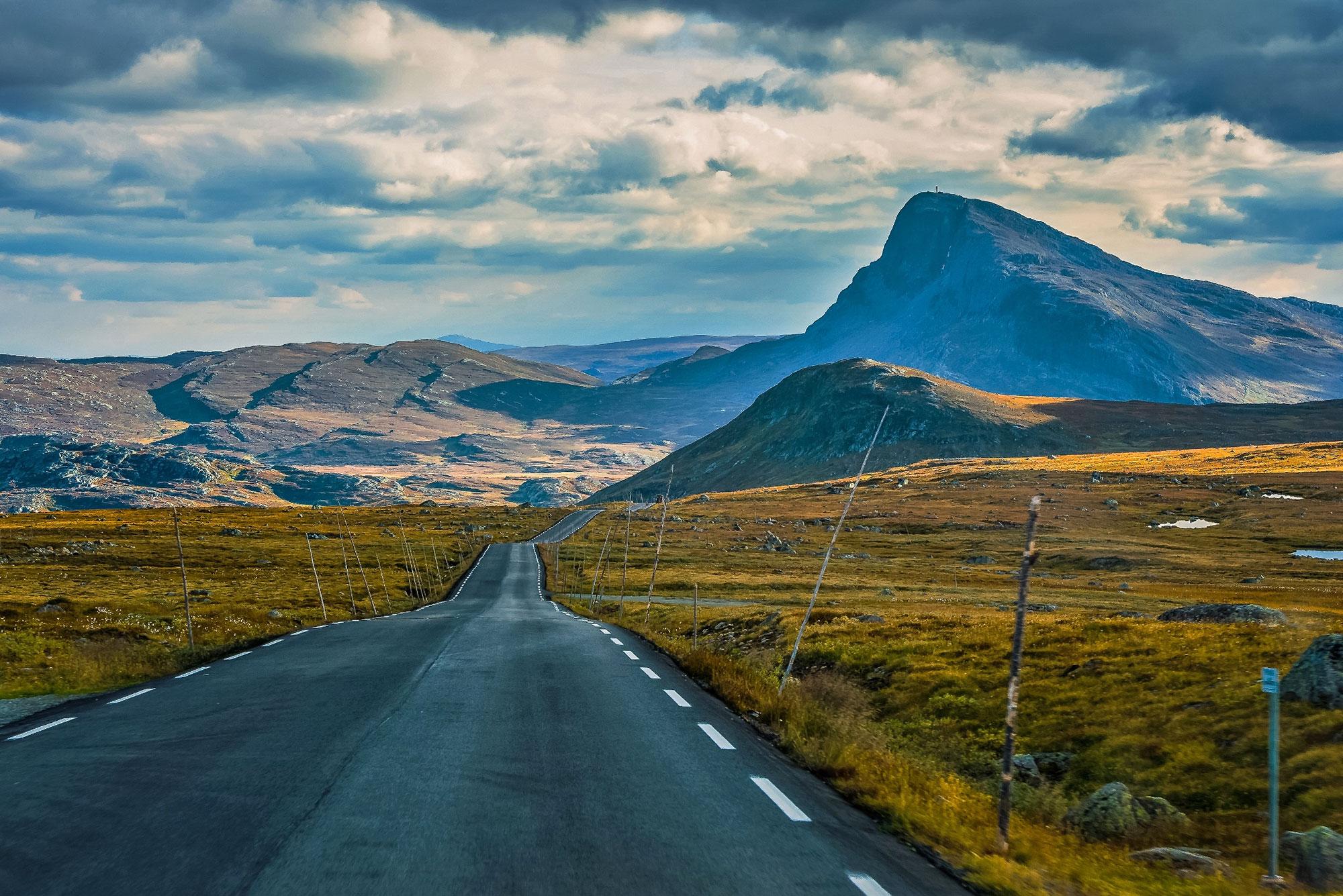 Национальный парк Jotunheimen - горы гигантов