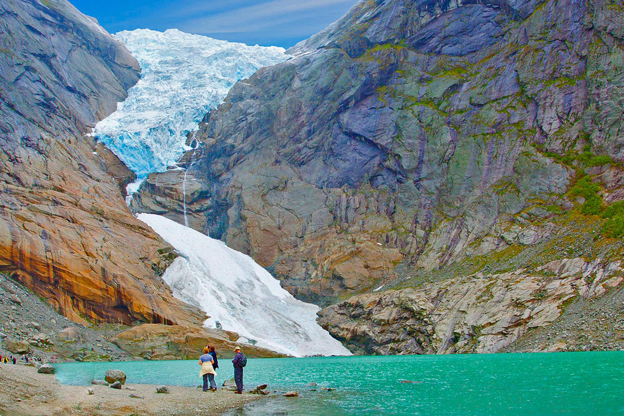 Прогулка к леднику Nigardsbreen