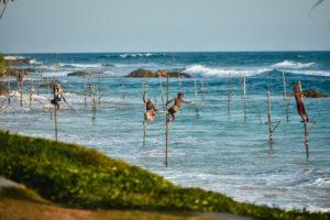 Рыбаки Шри Ланки