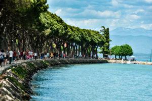 The south of Garda lake looks gorgeous