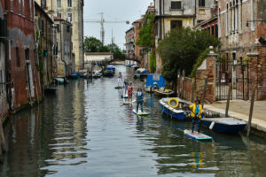 SUP tour Venice