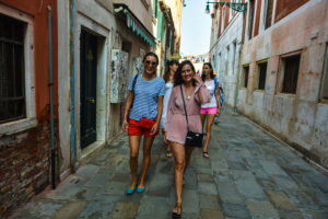 """Walking narrow streets of Venice is """"must"""" in our tour"""