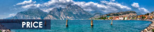 The price and conditions of SUP trip to Garda lake Italy