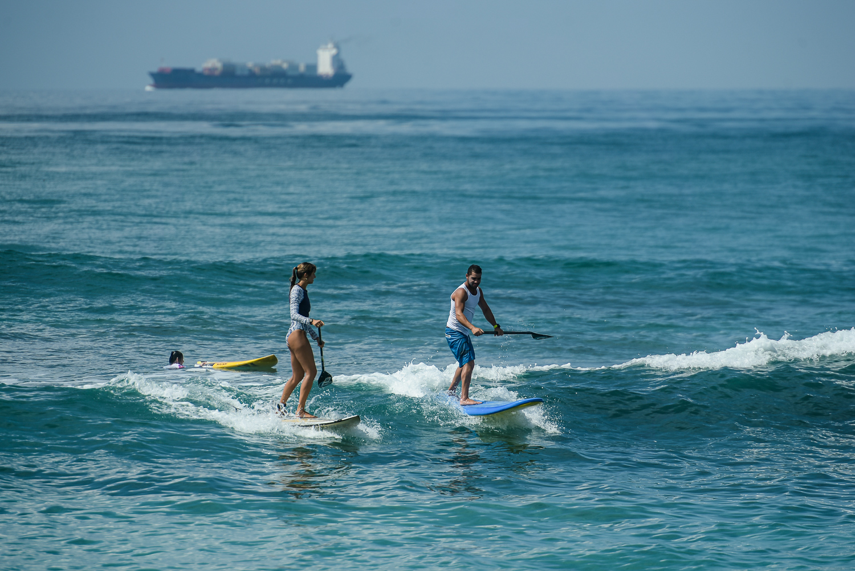 Отличные условия для обучения SUP серфингу на Шри Ланке