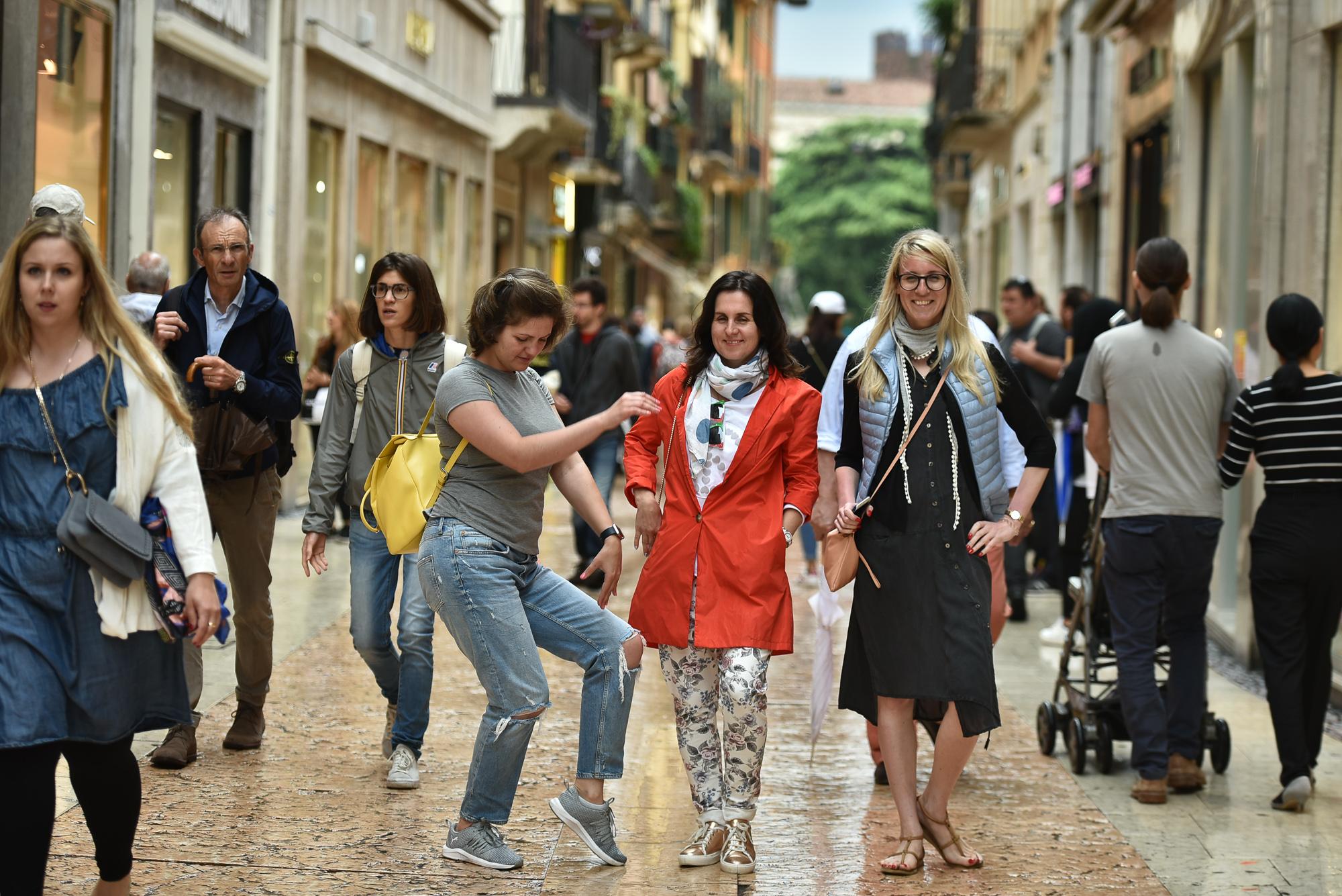 Прогулки по старому городу Вероны
