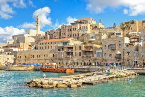 Тель Авив Яфо старый горд и порт