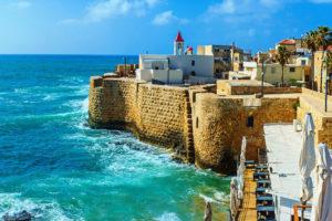Древний арабский город Акко у берегов Средиземноморья