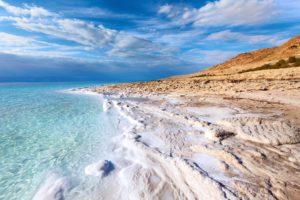 Соленые берега Мертвого моря