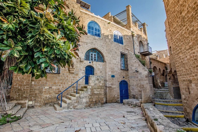 Уютные дворики старого города в Иерусалиме