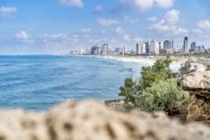 Прекрасная береговая линия Тель Авива