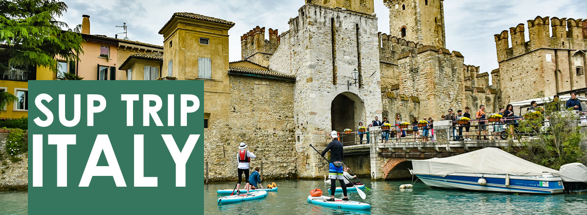 About the active SUP trip to Garda lake Italy