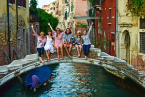 Тур по Венеции - обязательная часть программы нашего активного тура